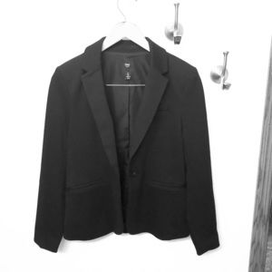 Black Gap Academy Single Button Blazer
